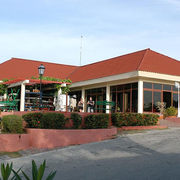 edificio con tejas rojas con muchas plantas