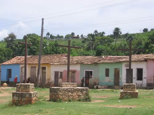 Square of the Three Crosses, Trinidad, Cuba
