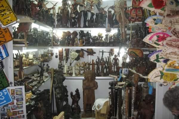 Stores of San Jose, Old Havana, Cuba