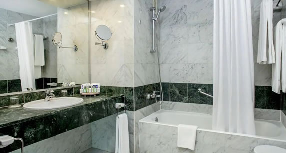 View of the room bathroom