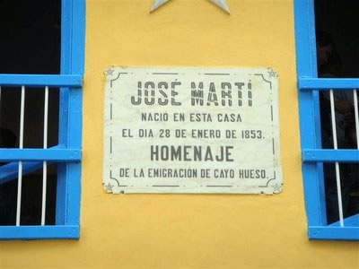 Birthplace of Jose Martí, Havana, Cuba