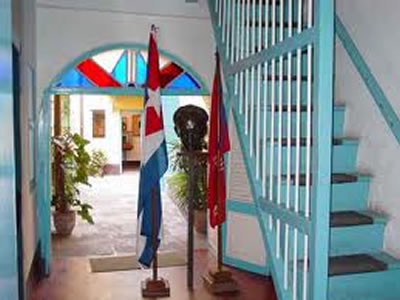 Interior Birthplace of Jose Martí, Havana, Cuba