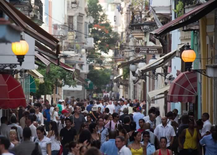 Obispo Street, Havana, Cuba