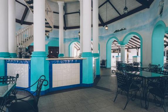 Cafeteria of the hotel Playa Alameda