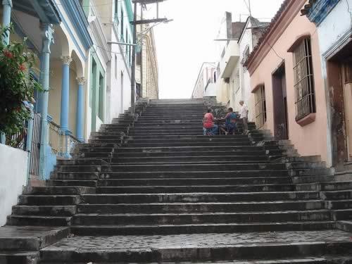 Calle Padre Pico, Santiago de Cuba