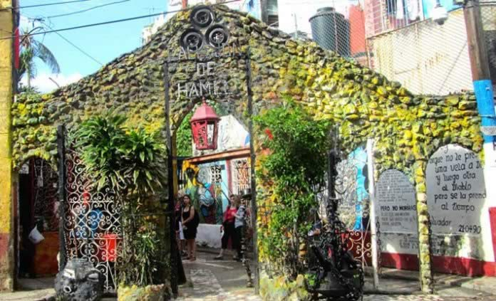 Hamel Alley, Old Havana, Cuba