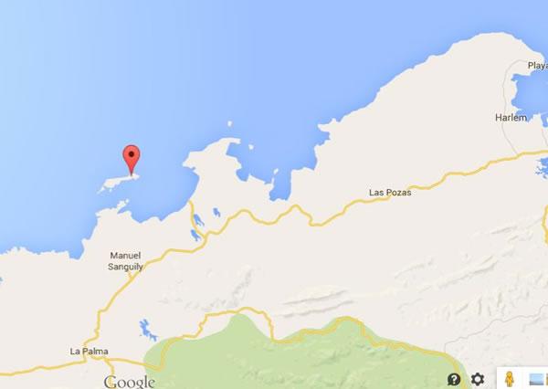 Cayo Levisa,Pinar del rio,mapa