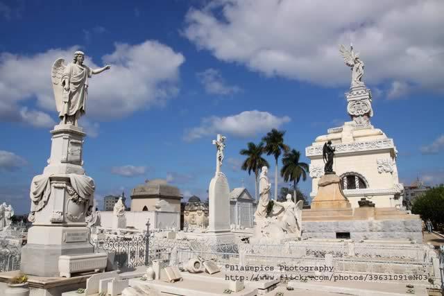 Colón Cemetery in Havana, Cuba