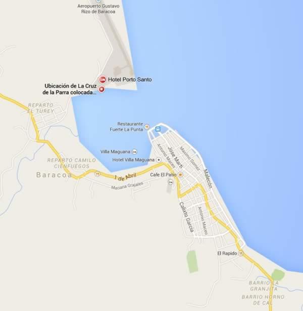 Cruz de Parra, Baracoa, Cuba