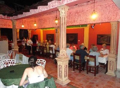 Restaurant Davimart, Trinidad, Cuba