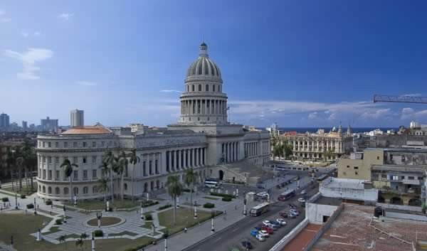 Capitol Building of Havana View