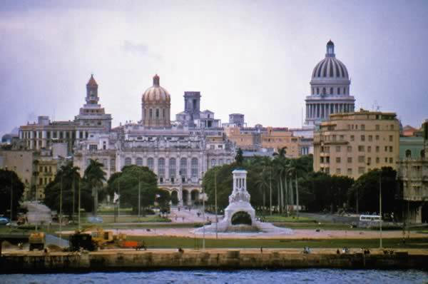 View of Havana from the north