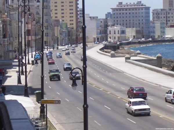 View of Malecon drive, Havana