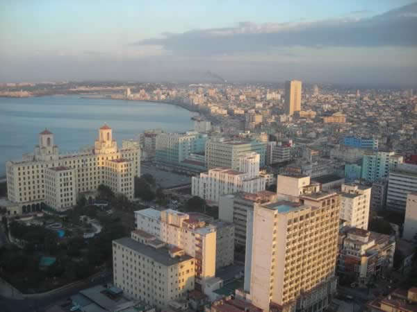 Aerial View of Vedado, Havana
