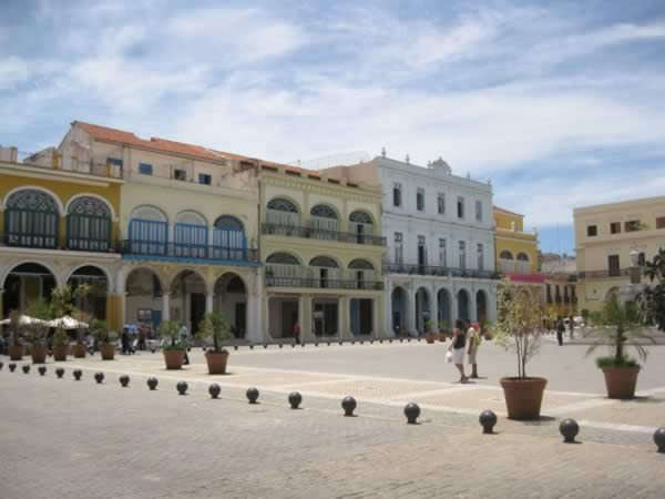 Old Square in Old Havana, Cuba