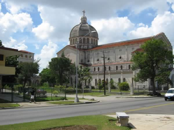 Church by fifth avenue, Havana, Cuba