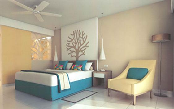 Deluxe Ocean View Room . Dhawa Cayo Santa Maria