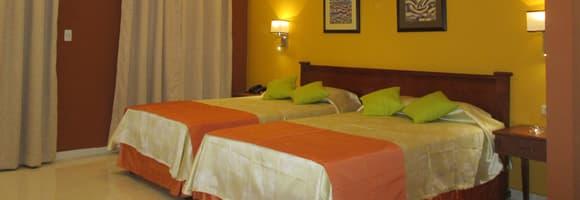 Encanto Gran Hotel room, Santiago de Cuba, Cuba