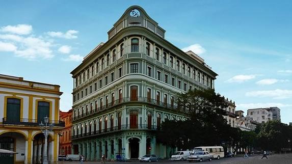 Saratoga hotel facade