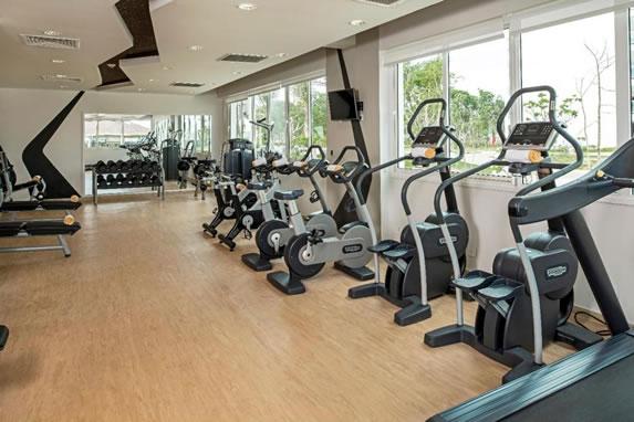 Exercise bike gym