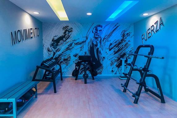 Gym at the Valentin Cayo Cruz hotel