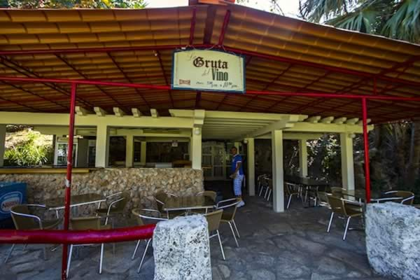 Restaurant, La Gruta, Varadero, Cuba