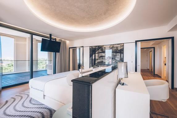 Habitación Suite del hotel Packard