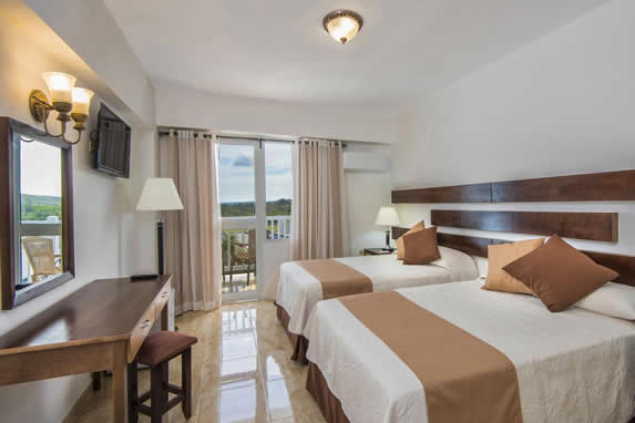 Standard room at Hotel Atlántico