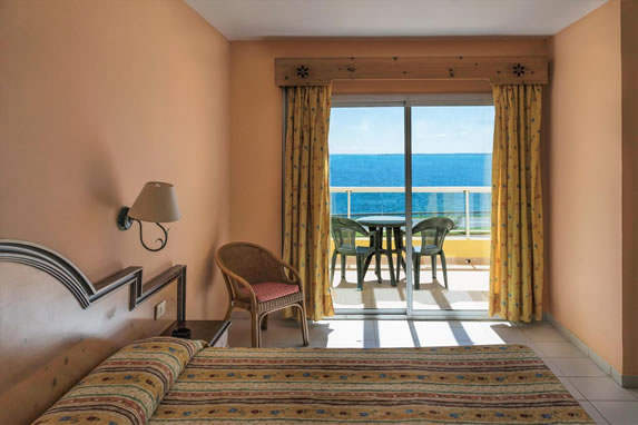 hotel ocean view room