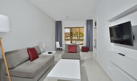 Garden suite room in the hotel