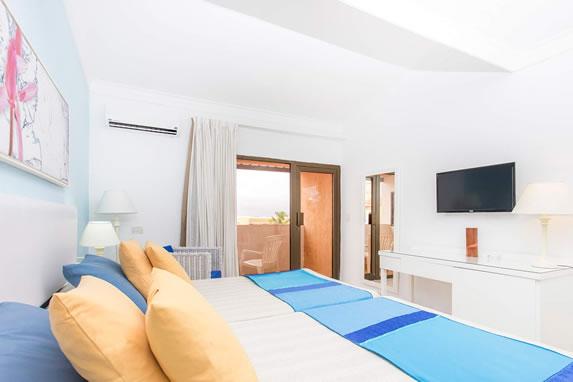 Las Morlas hotel room view