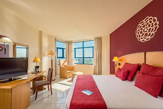 Vista habitación standard en el hotel