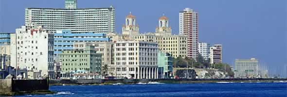 Havana, Cuba small banner