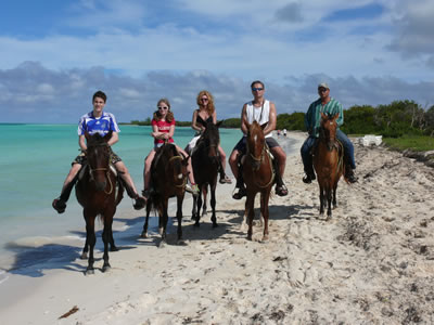 Horse Back Riding in Cayo Coco