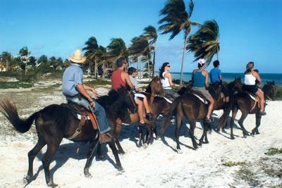 Horse back riding Cayo Coco