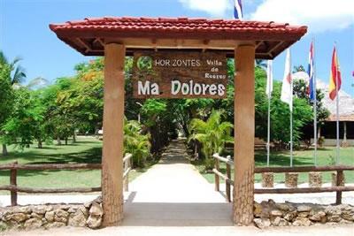 Entrada  del Hotel Ma Dolores, Trinidad