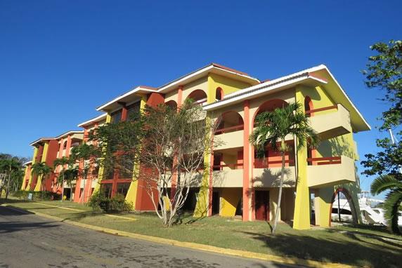 Facade of Hotel Acuario