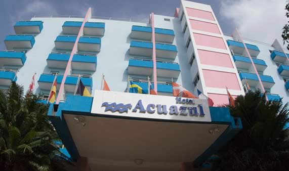 Hotel Acuazul Front
