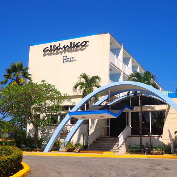 Atlantic hotel entrance