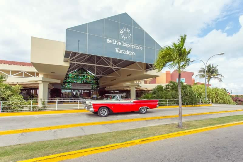 Hotel Be Live Experience Varadero entrance, Cuba