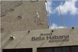 Facade of hotel Bella Habana