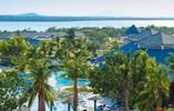 Vista aerea Hotel Blau Costa Verde