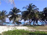 Vista de la Playa en el Hotel Brisas Santa Lucia