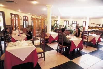 Restaurante del Hotel Brisas Trinidad del Mar
