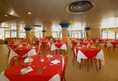Restaurante del Hotel Brisas del Caribe