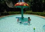 Piscina para niños del Hotel Brisas del Caribe