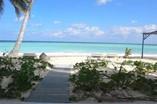 Vista de la playa del Hotel Cayo Levisa