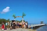 Embarcadero hacia el Hotel Cayo Levisa