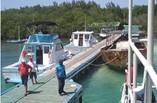 Vista del embarcadero del Hotel Cayo Levisa