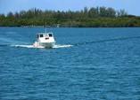 Embarcación hacia el Hotel Cayo Levisa